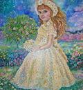 YUMI SUGAI.The fairy of the daisy.